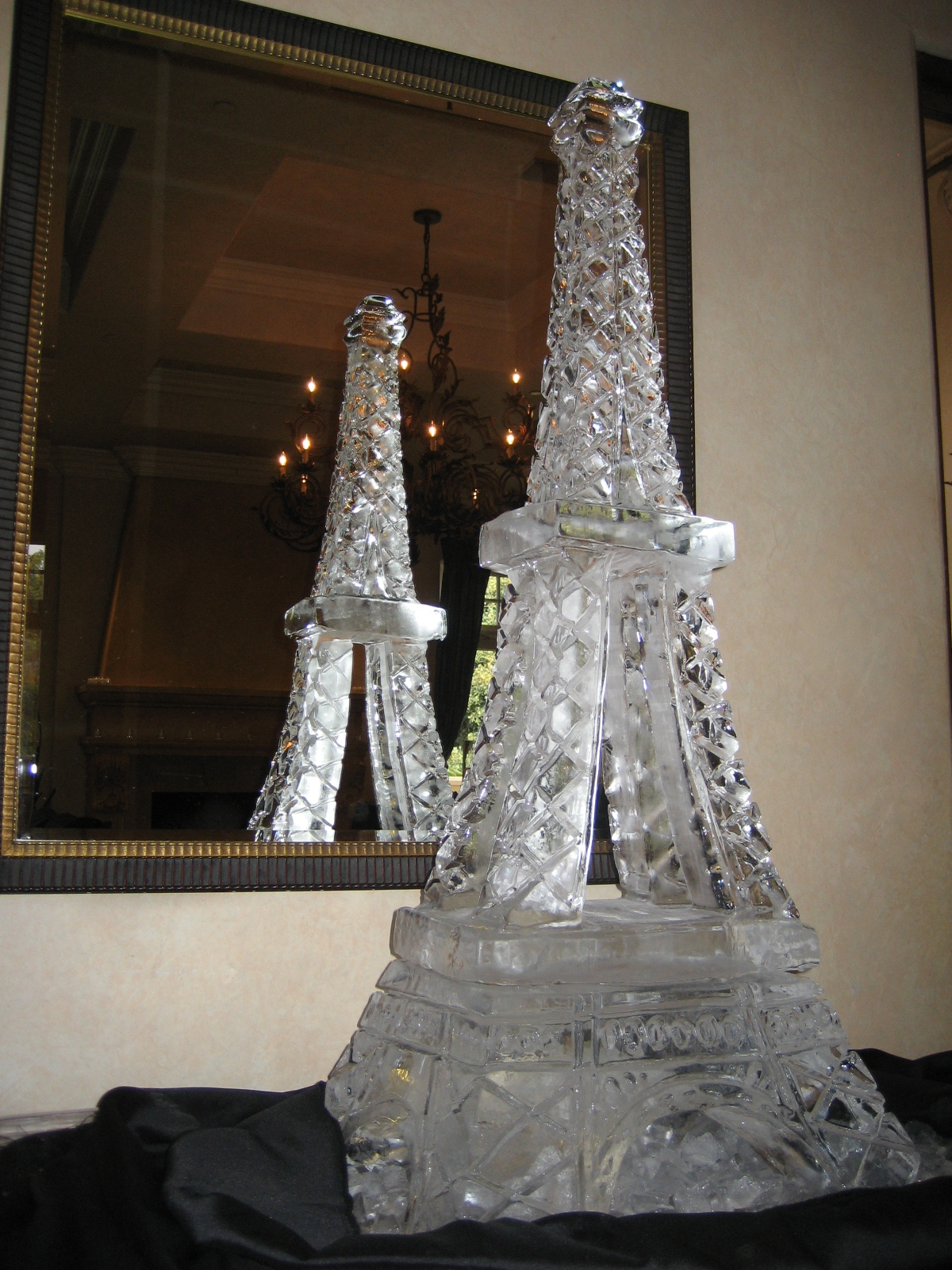 Eiffel Tower Ice Sculpture Mold
